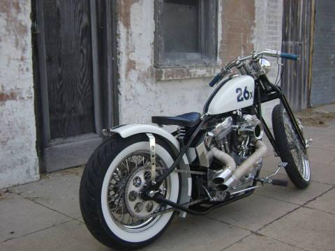 BCNCafeRacer  Harley Davidson Sportster